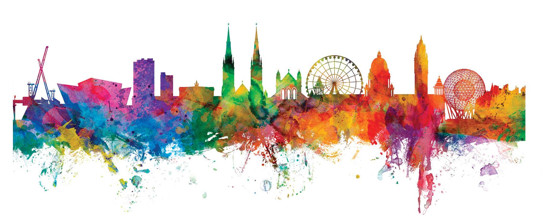 Trademark-Fine-Art-Belfast-Northern-Ireland-Skylin